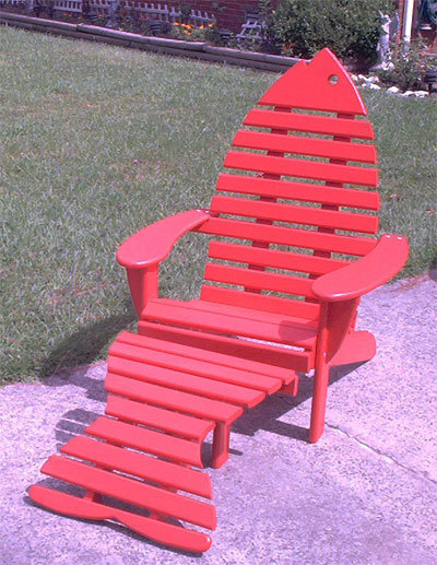 adirondack fish chair