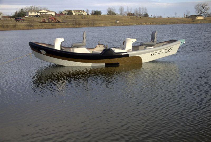 a Montana Made Drift Boat