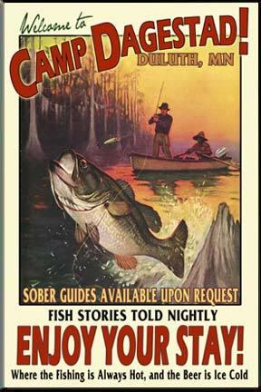 Vintagesignfishing